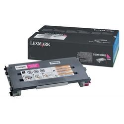 LEXMARK - Lexmark C500H2MG Orjinal Kırmızı Toner (3K)