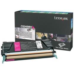 LEXMARK - Lexmark C5240MH Orjinal Kırmızı Toner