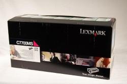 LEXMARK - Lexmark C7700MS Orjinal Kırmızı Toner C770/C772