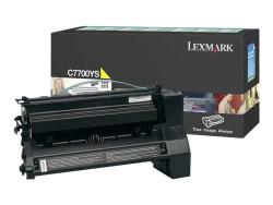 LEXMARK - Lexmark C7700YS Orjinal Sarı Toner C770/C772