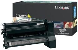 LEXMARK - Lexmark C780H1YG Sarı Orjinal Toner