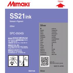 MİMAKİ - Mimaki SS21 Gri (Silver) SPC-0504Si Orjinal Solvent Mürekkep Kartuşu 220 Ml