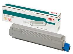 OKI - Oki 42804570 Orjinal Sarı Toner C5250/C5450