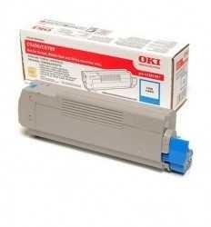 OKI - Oki 43381923 Orjinal Mavi Toner C5600/C5700
