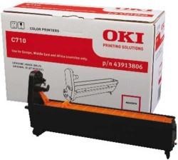 OKI - Oki 43913806 Orjinal Kırmızı Drum Ünitesi C710