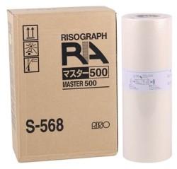 RISO - Riso S-568 Orjinal B4 Master RA-4000-4050-4200