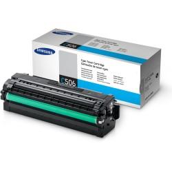 SAMSUNG - Samsung CLT-C506L Orjinal Mavi Toner