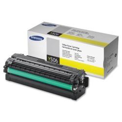 SAMSUNG - Samsung CLT-Y506L Orjinal Sarı Toner