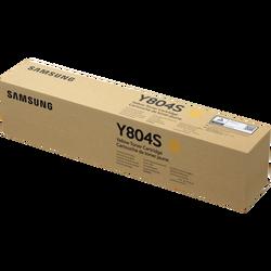 SAMSUNG - Samsung CLT-Y804S/SEE Orjinal Sarı Toner X322NR/X3280NR