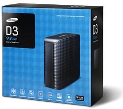 SAMSUNG - Samsung D3 Station 2TB USB 3.0 STSHX-D301TDB Taşınabilir Disk